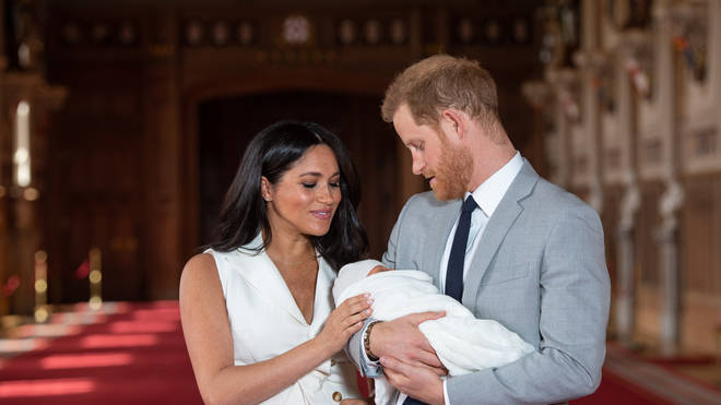 The Duke & Duchess Of Sussex With Their Son Archie
