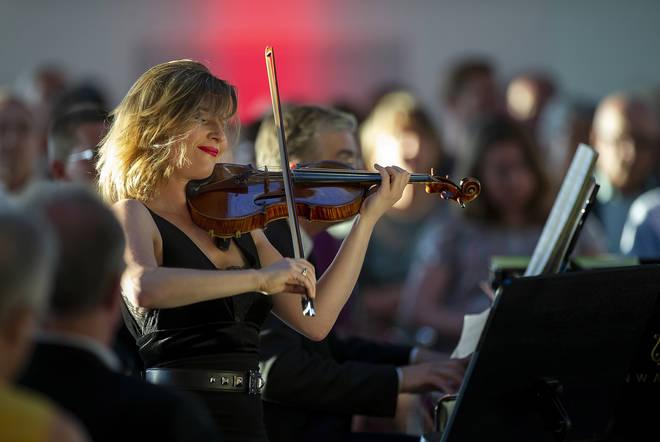 Lisa Batiashvili plays alongside Jean-Yves Thibaudet