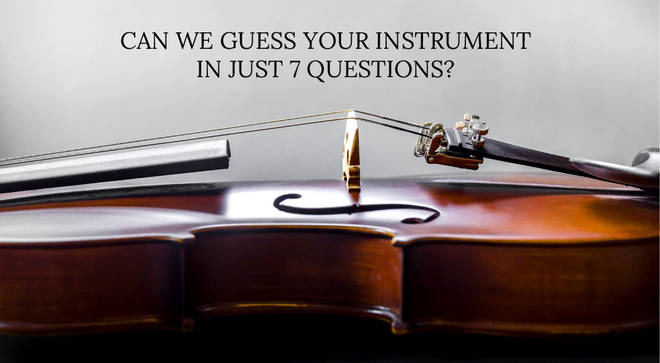 Can we guess your instrument?