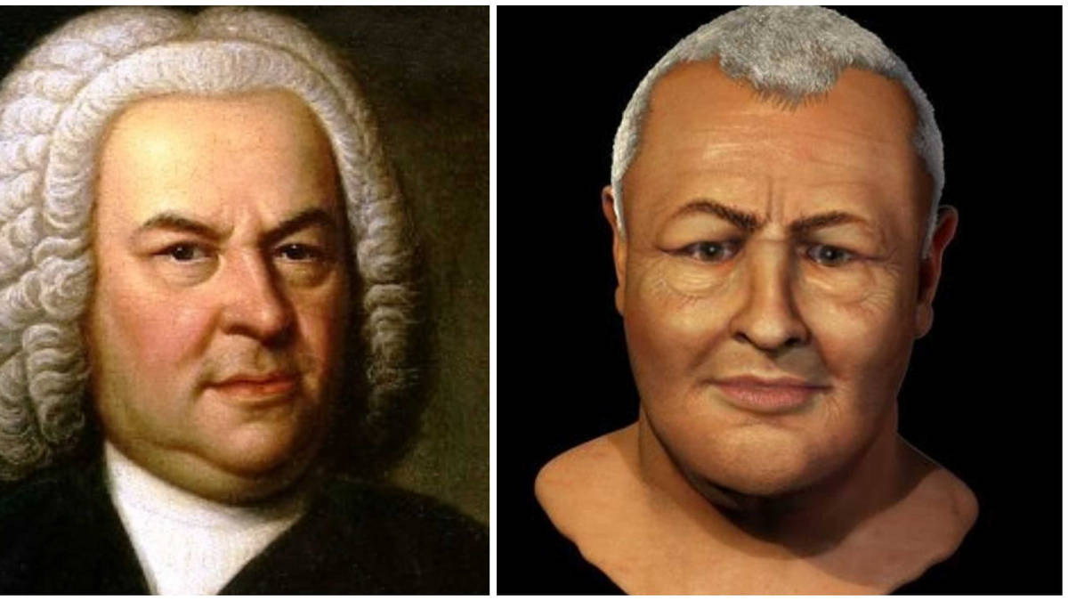 Scientists have created a 'true' image of Bach's face