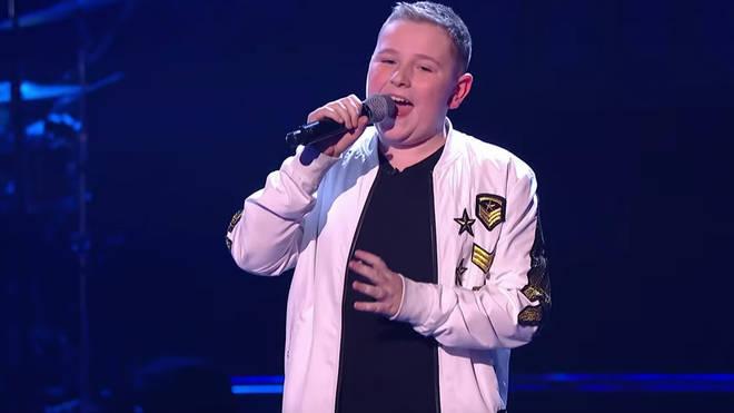 Liam Price sings a high F sharp