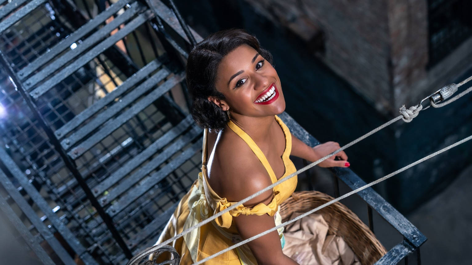 First look at Steven Spielberg's 'West Side Story' with Ariana DeBose playing Anita