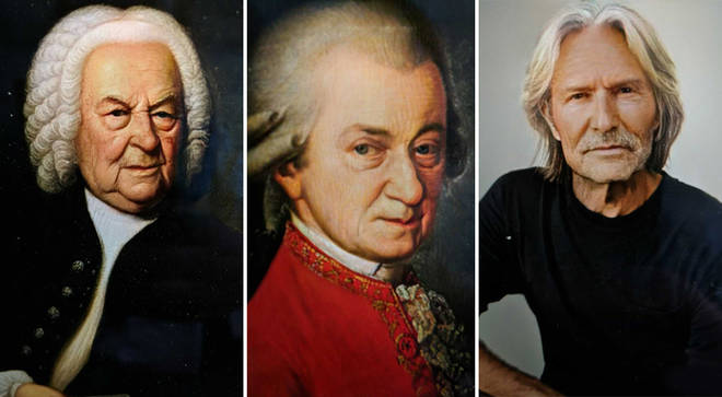 Classical composers with FaceApp