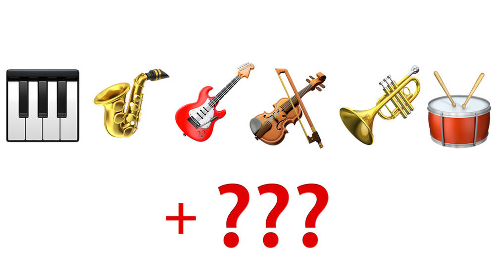 Apple has unveiled a brand new, very important musical instrument emoji