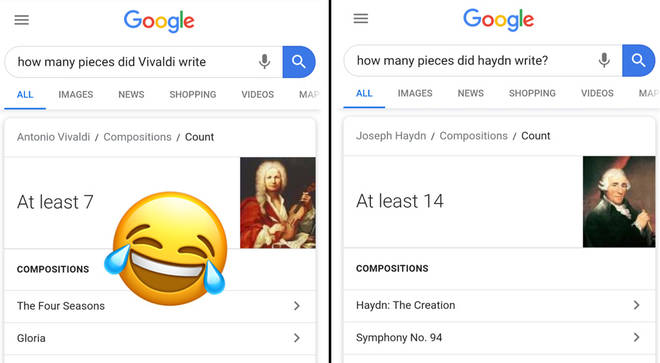 How many pieces did composers write