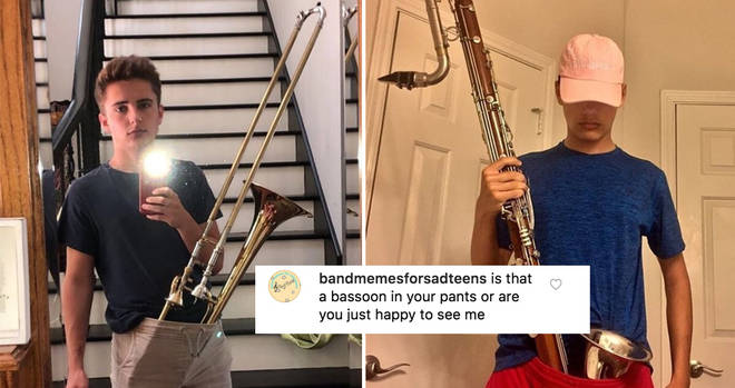 Instruments in pants