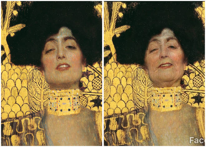 'Judith I' through FaceApp