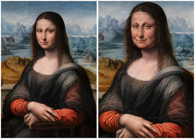 'Mona Lisa' through FaceApp