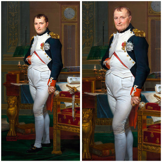 'Napoleon Bonaparte' through FaceApp