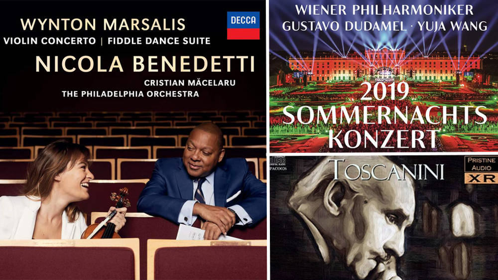 David Mellor's Album Reviews: Wynton Marsalis and Nicola Benedetti, Beethoven and 2019 Summer Night's Concert