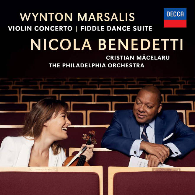 Pictured: Nicola Benedetti and Wynton Marsalis