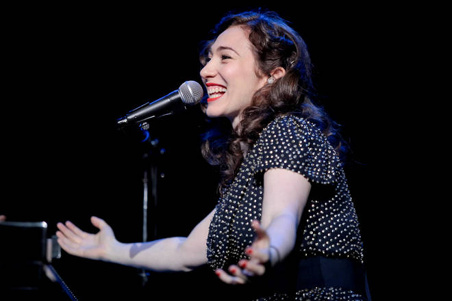 Regina Spektor performs at Royal Albert Hall in London