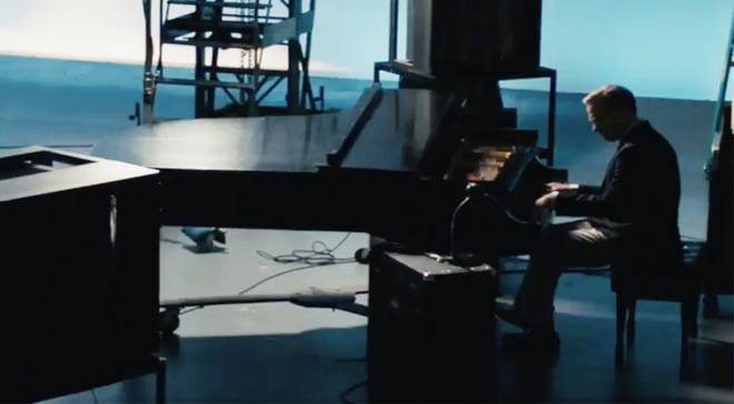 Tom Hanks plays the piano in A Beautiful Day in the Neighborhood