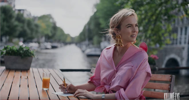 Jodie Comer plays Villanelle in Season 2 of Killing Eve