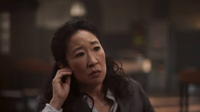Sandra Oh plays Eve Polastri in Killing Eve