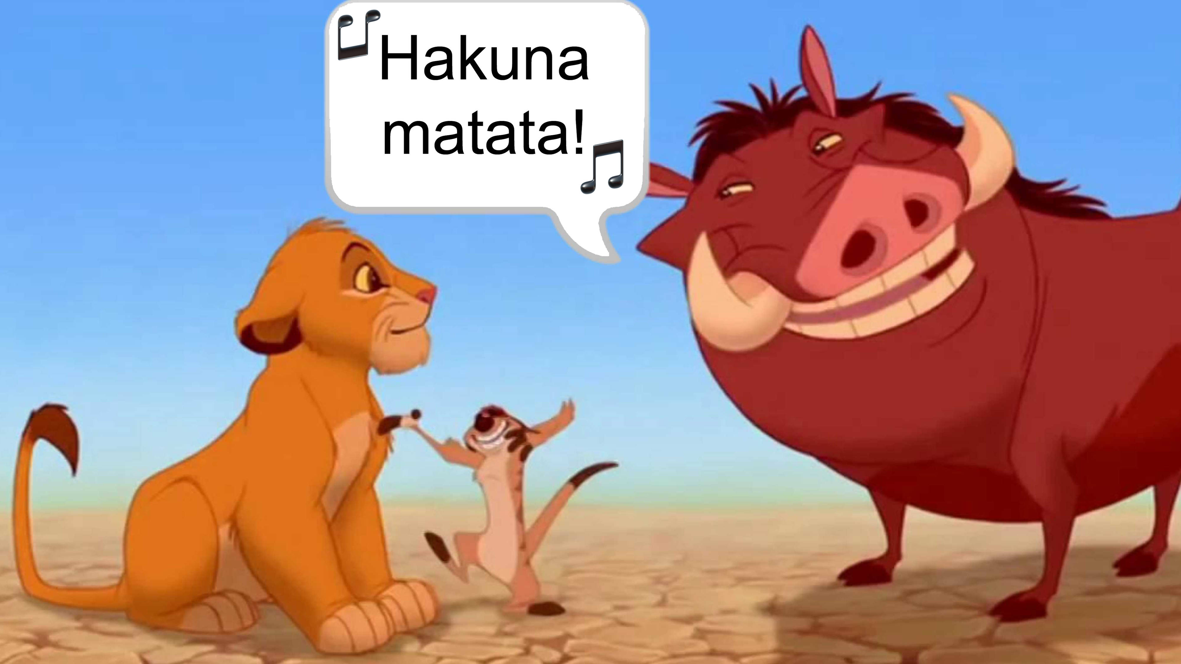 The Lion King: What does the phrase 'Hakuna matata' actually mean?