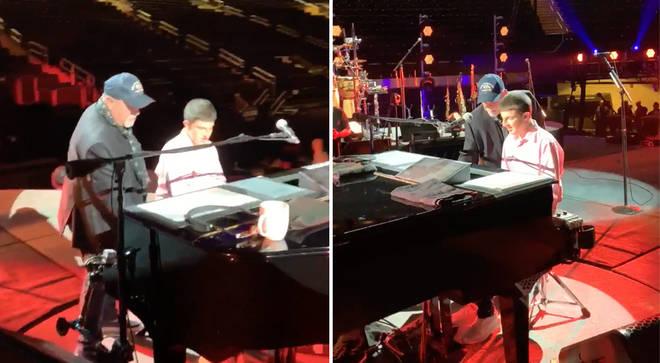 Billy Joel duet with Logan Riman