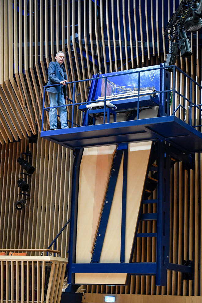 This six-metre-high piano could be a world record breaker
