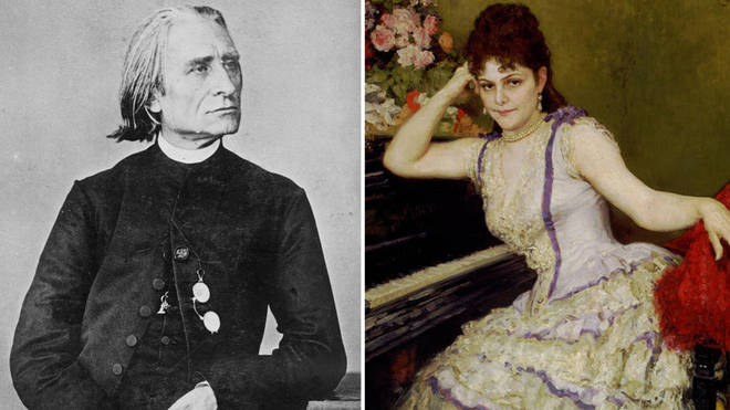 Franz Liszt and Sophie Menter