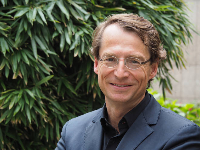 Christoph Müller, Gstaad Menuhin Festival director