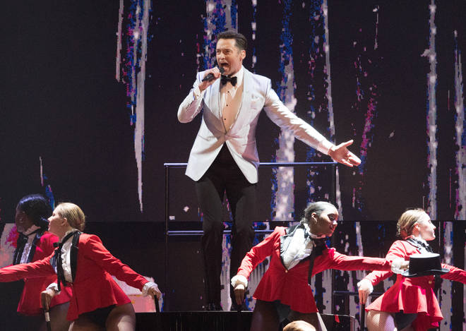High Jackman performs songs from The Greatest Showman at the BRIT Awards