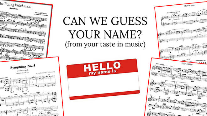 Can we guess your name?