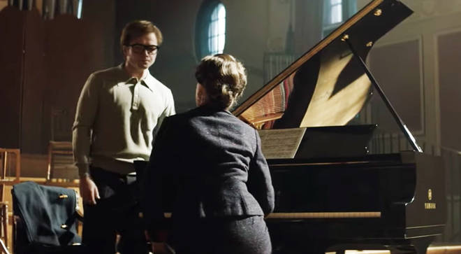 Taron Egerton plays a young Elton John in Rocketman