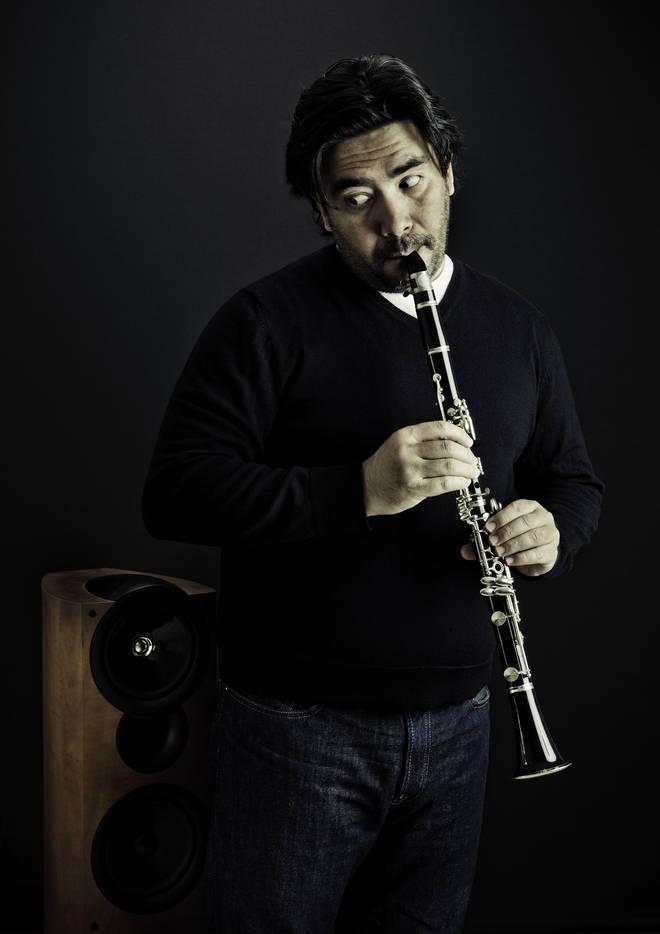 Clarinet stock photo