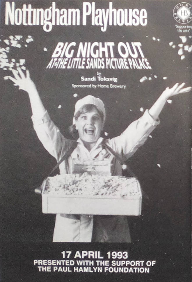 Sandi Toksvig's Big Night Out at the Little Sands Picture Palace Programme 1993