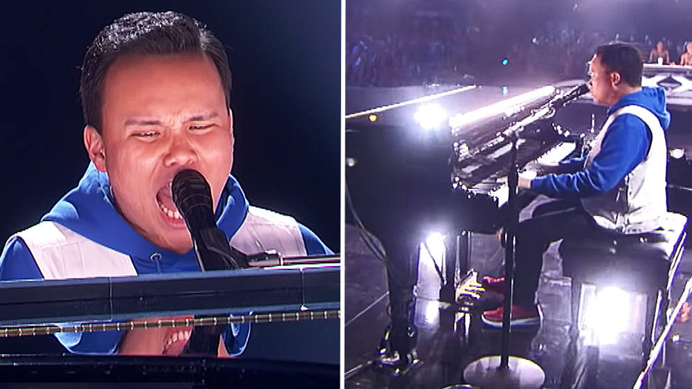 Blind AGT pianist Kodi Lee blows audience away with moving performance of 'Bridge Over Troubled Water'