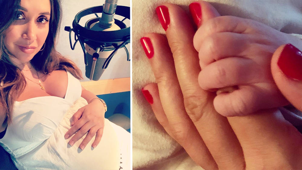 Myleene Klass, Classic FM presenter, announces name of baby boy