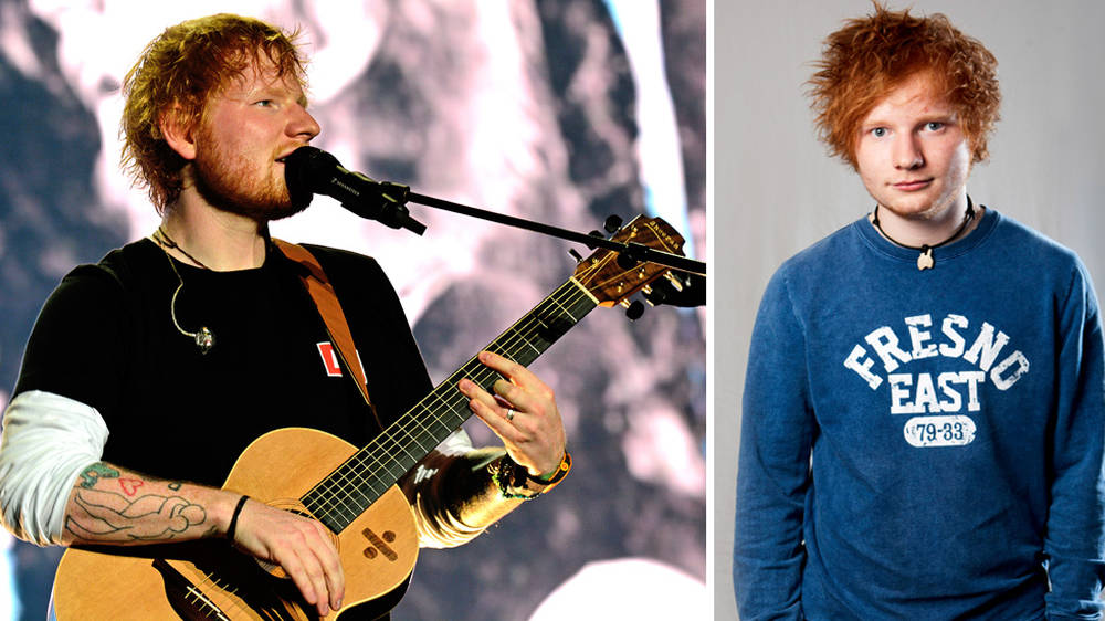 Ed Sheeran FAILED music at college, new Made in Suffolk exhibition reveals