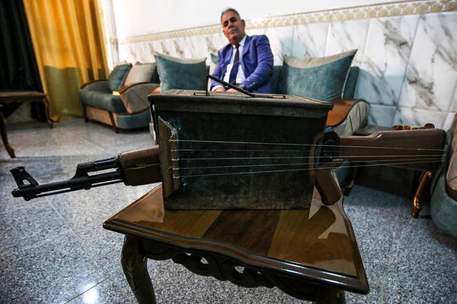 Majed Abdennour's reimagined Kalashnikov rifle