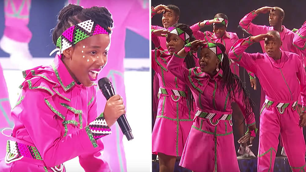 Watch AGT youth choir Ndlovu's moving performance of U2's 'Beautiful Day'
