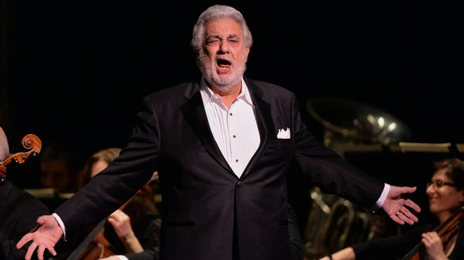 Plácido Domingo received cheers and a standing ovation at Salzburg festival