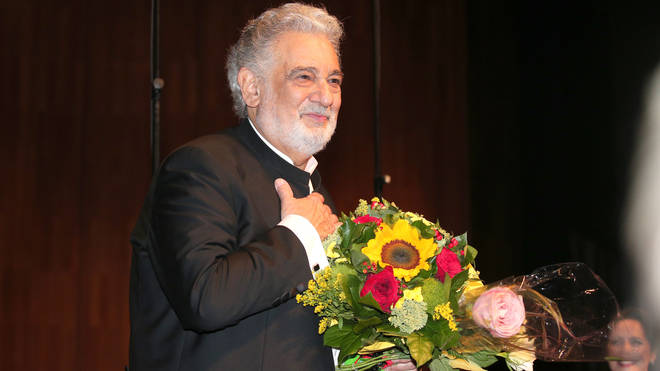 Plácido Domingo attends his 40 year stage anniversary during July 2015's Salzburg Festival