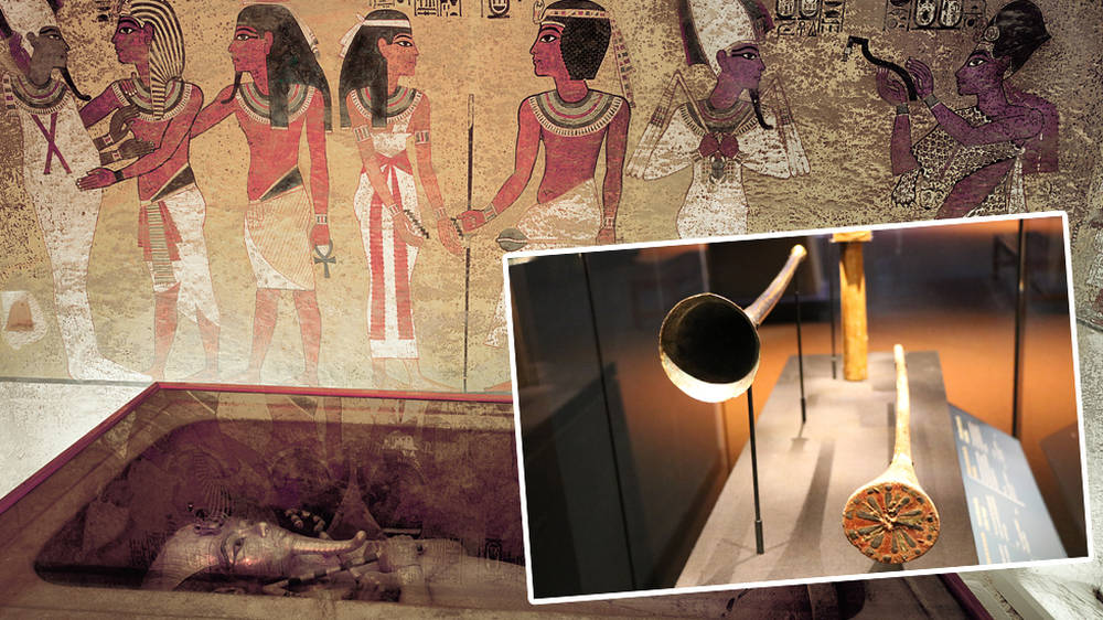 The world's oldest trumpet was found in Tutankhamun's tomb – but it was nearly destroyed in a 1939...