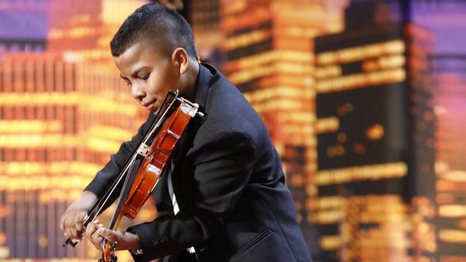 Tyler Butler-Figueroa is competing on America's Got Talent: The Champions