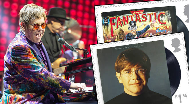 Sir Elton John features on new Royal Mail stamp collection