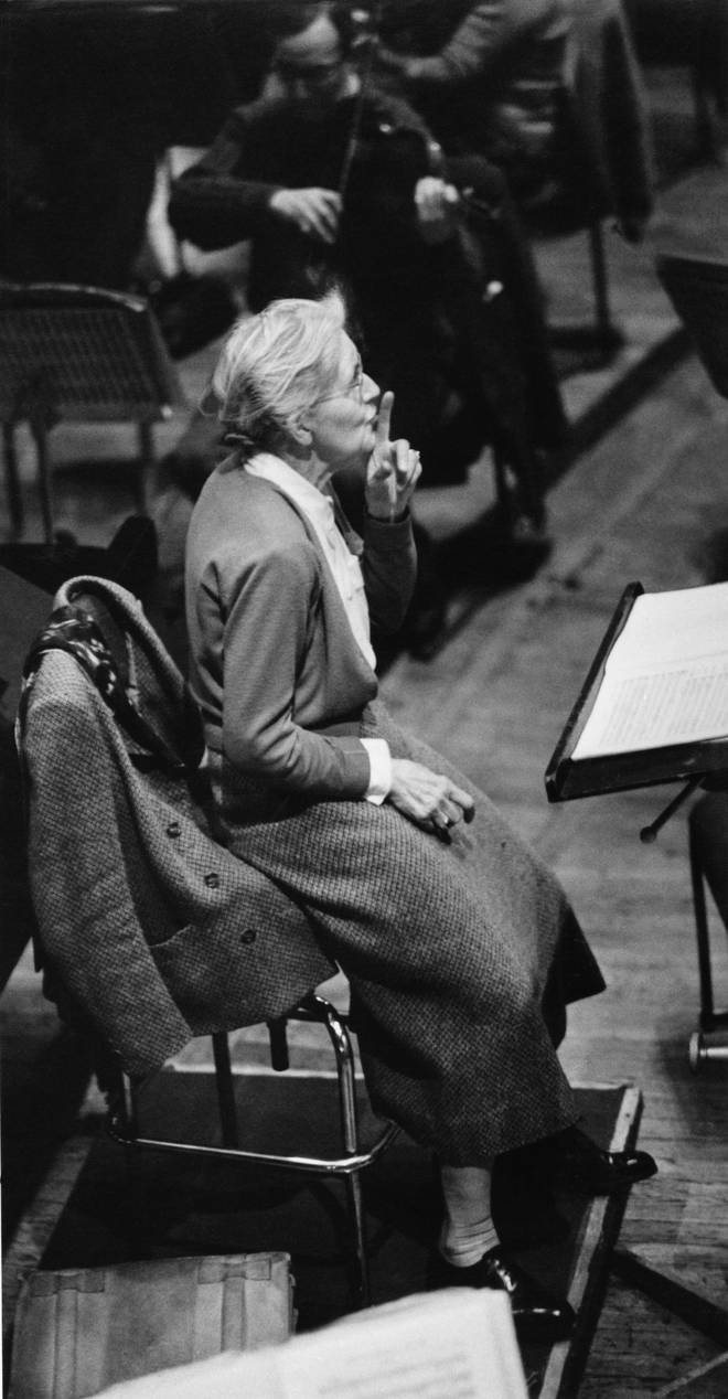 There's no take-down like a Nadia Boulanger take-down