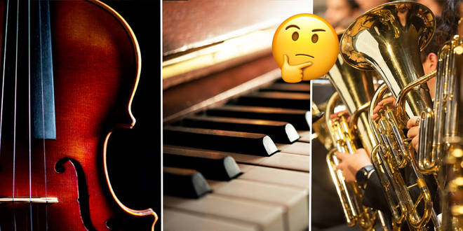 Tell us your instrument and we'll evaluate your life choices