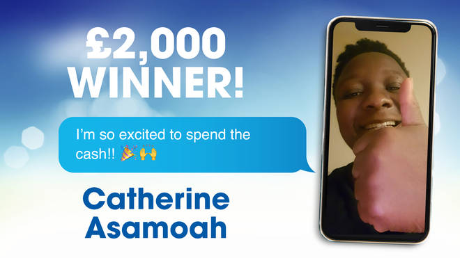Competition winner, Catherine