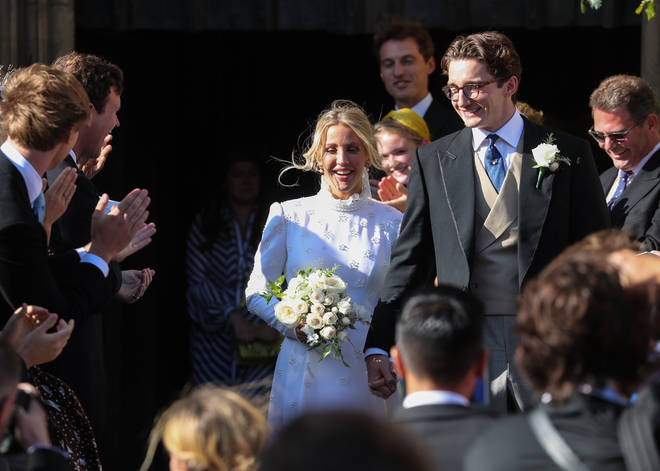 The wedding of Ellie Goulding and Caspar Jopling 2019