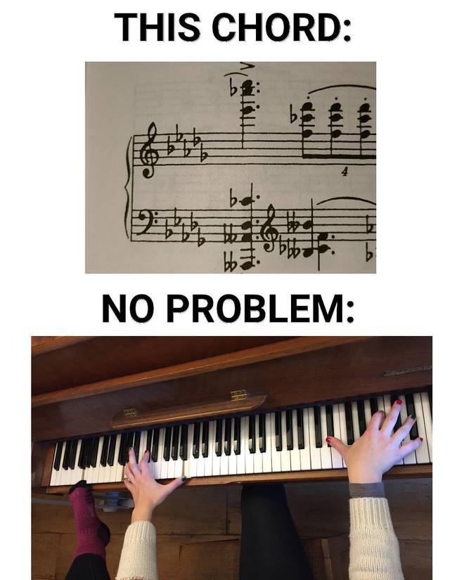 No problem chord