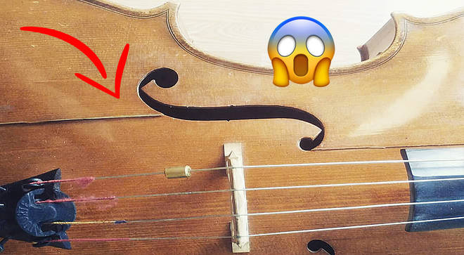 Cello damaged after airline flight