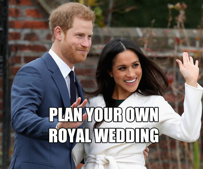 Plan your own Royal Wedding