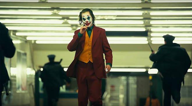 Joaquin Phoenix stars as the Joker