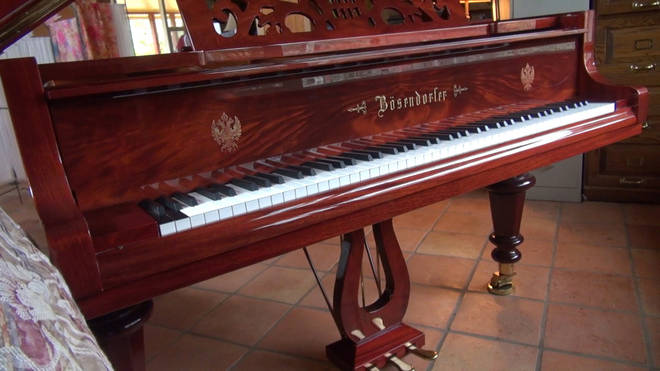 92-key Bösendorfer piano