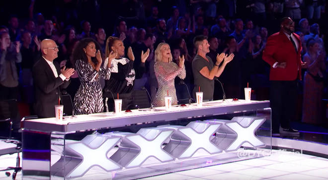 AGT's panel of judges were blown away by the youth choir.