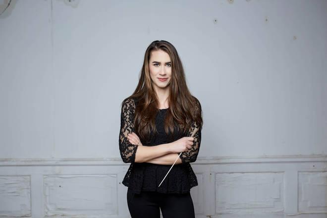 Conductor Marta Gardolińska